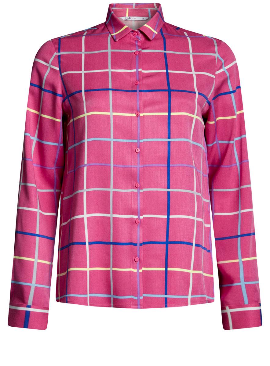 Блузка oodji блузка женская oodji ultra цвет желтый 11405063 6 45510 5000n размер 42 48 170