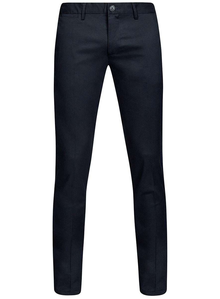 Брюки oodji брюки мужские oodji lab цвет индиго 2l210231m 23421n 7800n размер 38 46 182