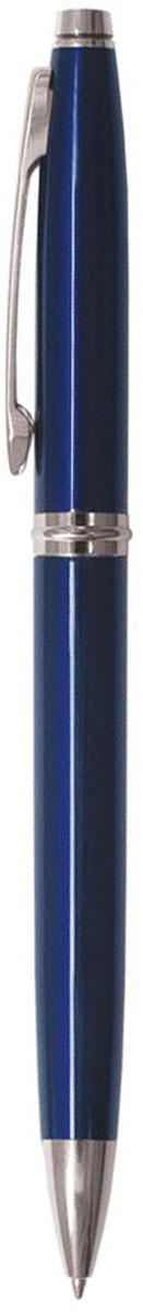 Berlingo Ручка шариковая Silver Classic синяя