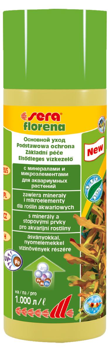 Удобрение для аквариумных растений Sera Florena, 250 мл удобрение комплексное для аквариумных растений sera florenette a
