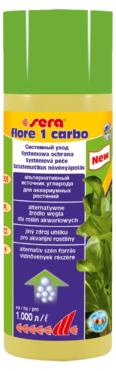 Удобрение для аквариумных растений Sera Flore 1 Carbo, 250 мл для растений в пустыне летом ограничивающим фактором является