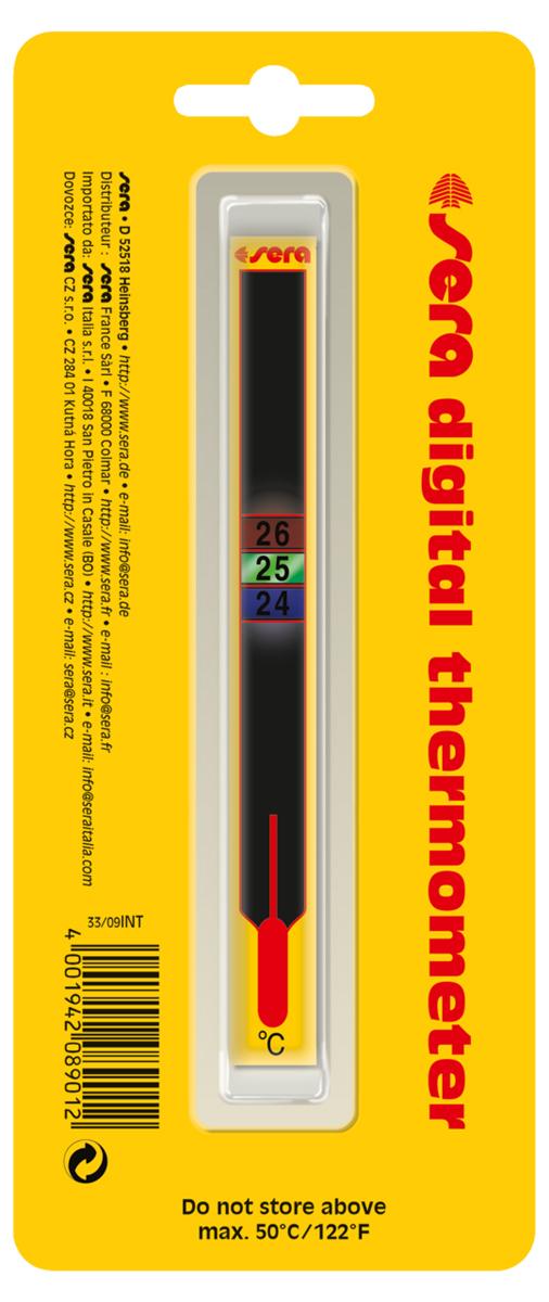 Термометр аквариумный Sera