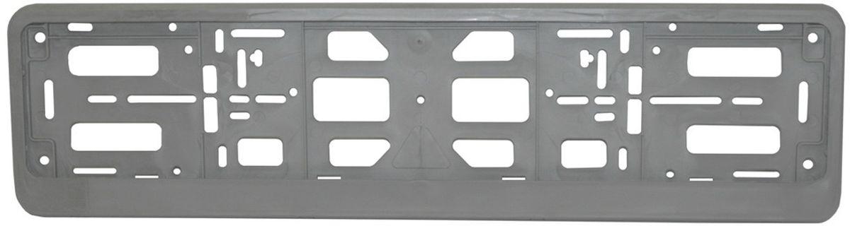Рамка номерного знака Триада Lux, цвет: серебристый рамка для номера на мотоцикл