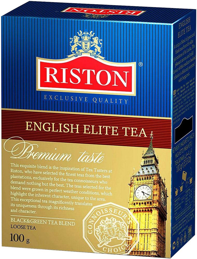 Фото - Riston Элитный Английский черный листовой чай, 100 г riston элитный английский черный листовой чай 200 г