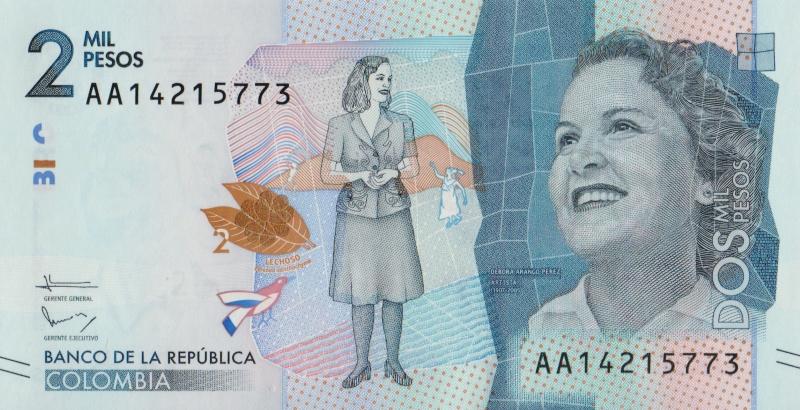 цены на Банкнота колумбия2000-2015  в интернет-магазинах