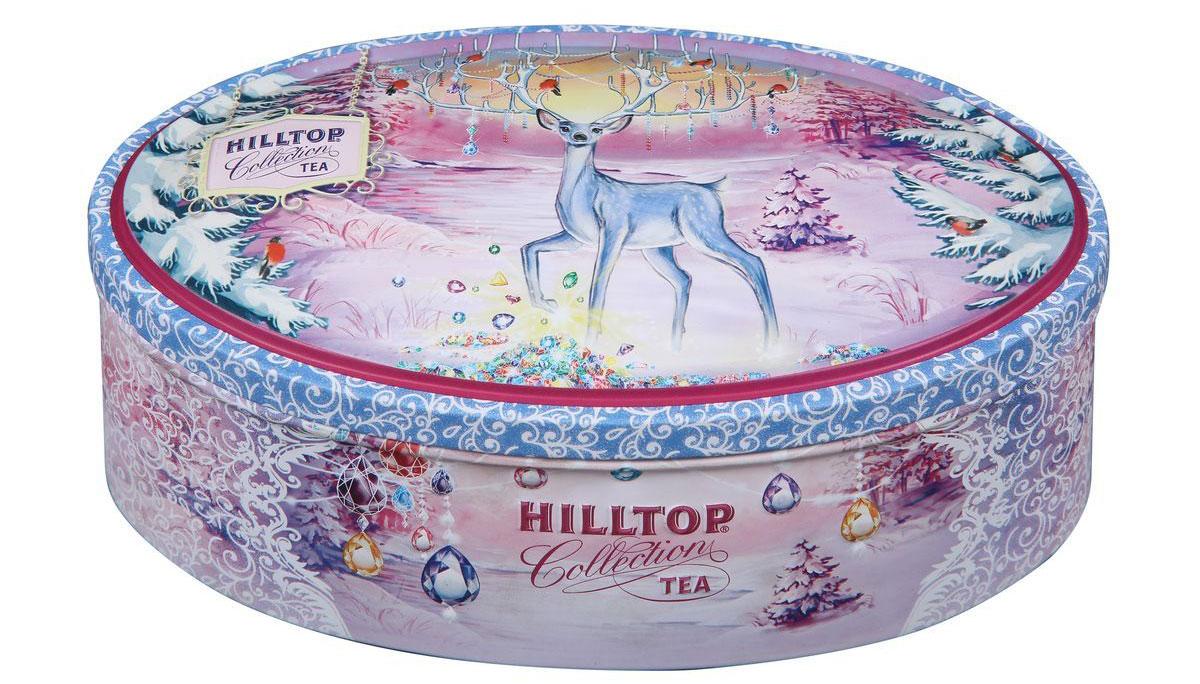 Hilltop Земляника со сливками. Сказочный олень чай черный листовой, 100 г archpole настенные рога с головой дорогой олень