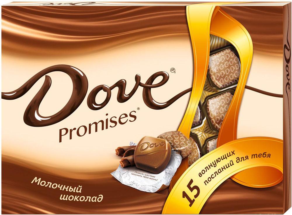 Dove Promises молочный шоколад, 120 г