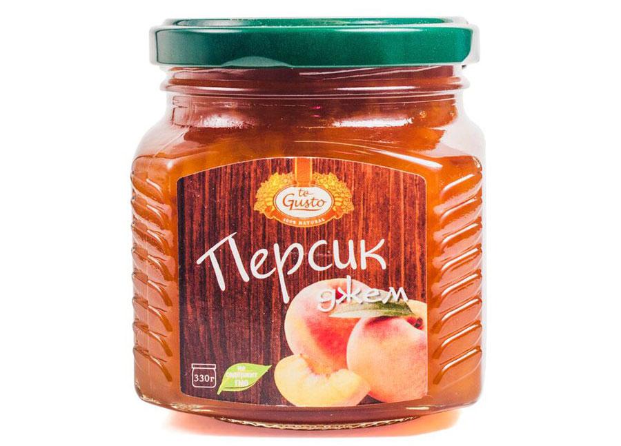 te Gusto Джем из персиков, 330 г te gusto джем из абрикосов 330 г