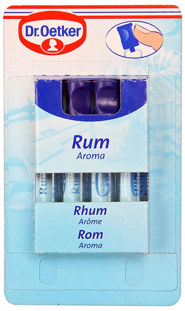 Dr.Oetker ароматизатор ром, 4 шт по 2 мл dr oetker ароматизатор сливочная ваниль 4 шт по 2 мл