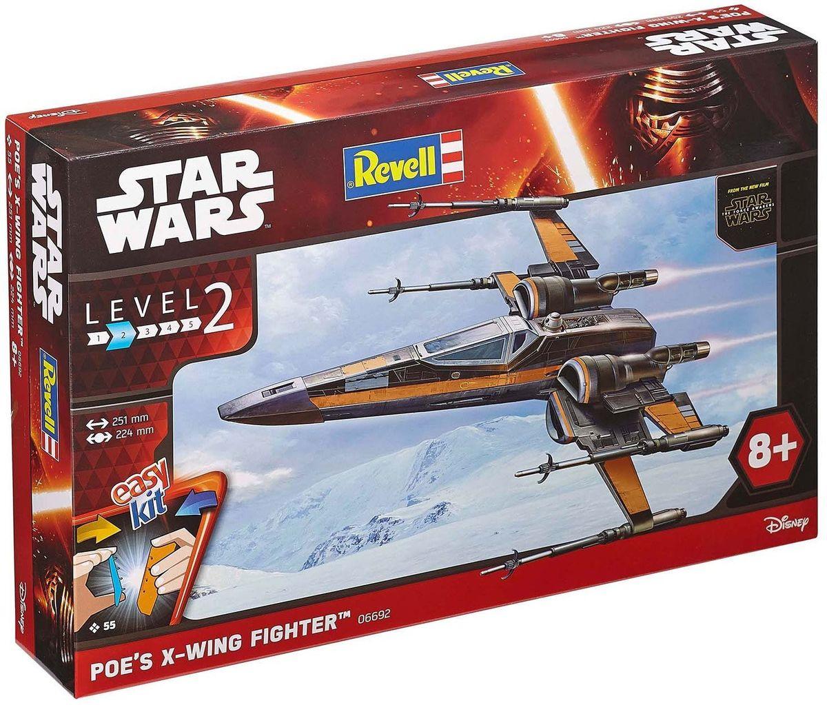 Revell Сборная модель Звездные войны Истребитель По 06692 цена