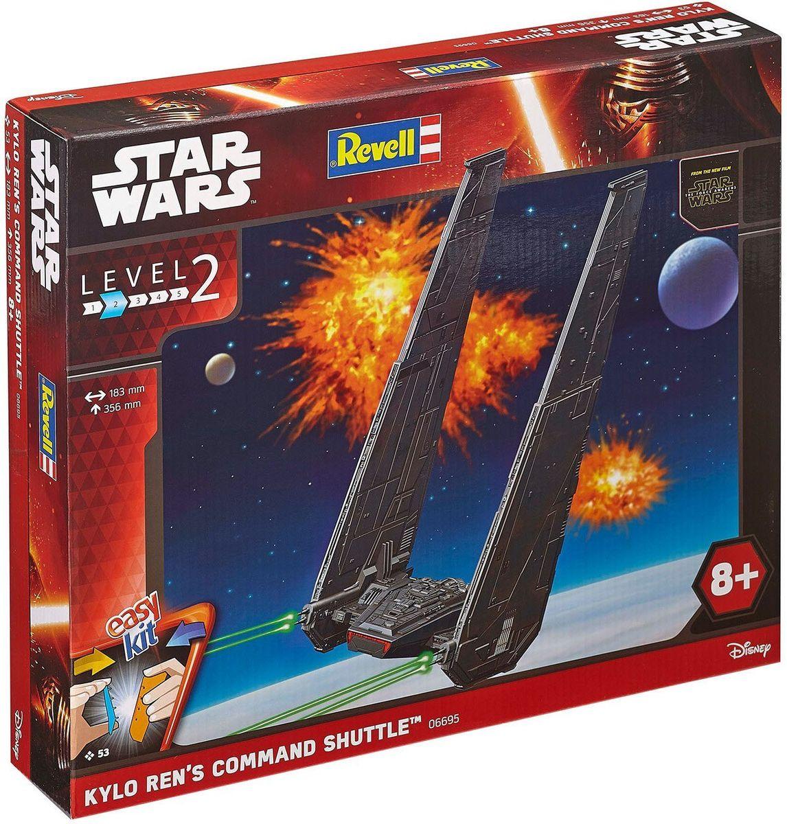 Revell Сборная модель Звездные войны Командный шаттл Кайло Рена цена