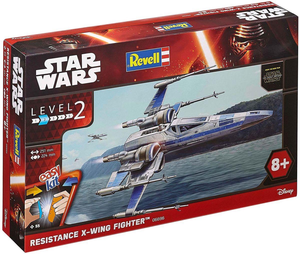 Revell Сборная модель Звездные войны Истребитель X-Wing Сопротивления цена