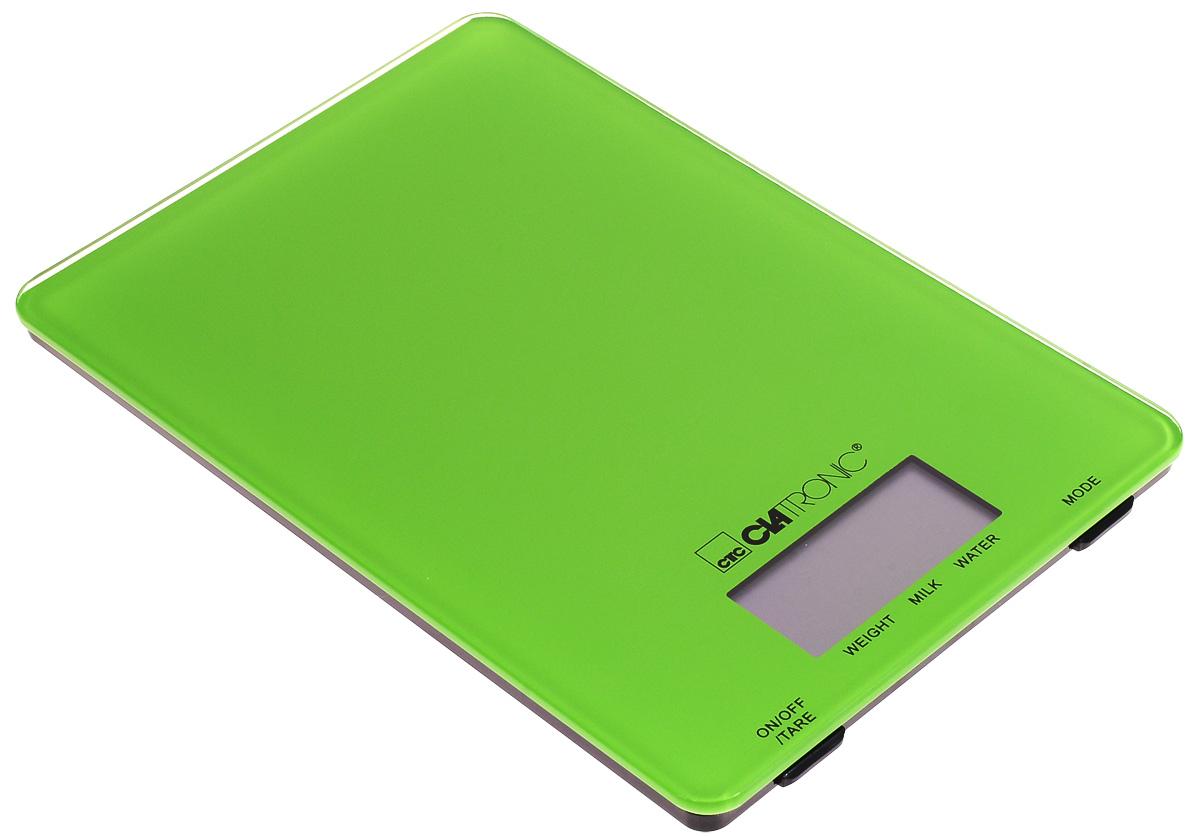 Кухонные весы Clatronic KW 3626, Green clatronic kw 3416 кухонные весы