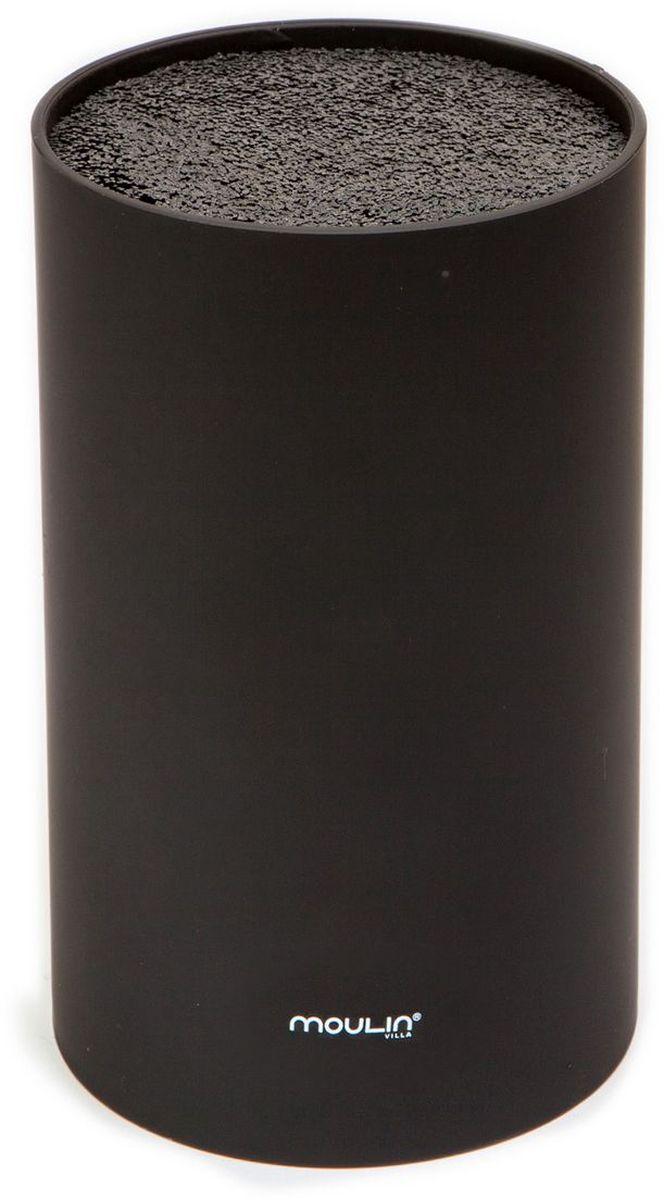 """Подставка для ножей """"MoulinVilla"""", цвет: черный"""