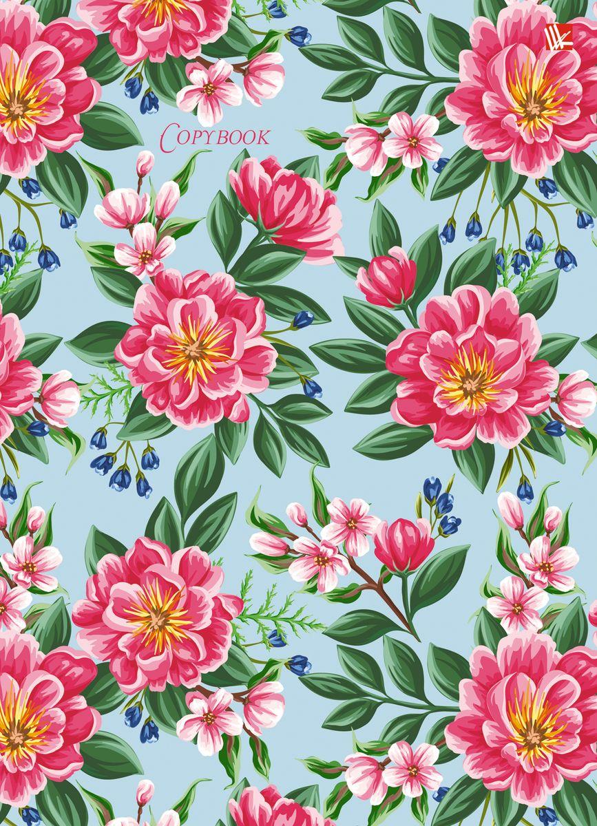 Канц-Эксмо Тетрадь Весенние цветы 120 листов в клетку канц эксмо тетрадь гармония цвета 96 листов в клетку