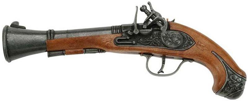 Schrodel Пистолет Blunderbuss Pirat schrodel пистолет buntline revolver