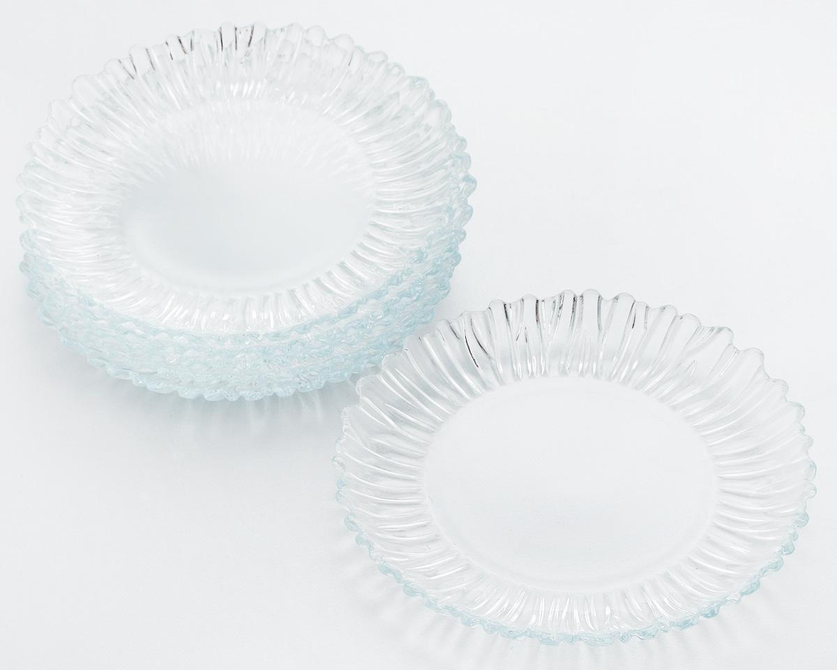 Набор десертных тарелок Pasabahce Aurora, диаметр 20,5 см, 6 шт набор десертных тарелок pasabahce aurora диаметр 20 5 см 6 шт