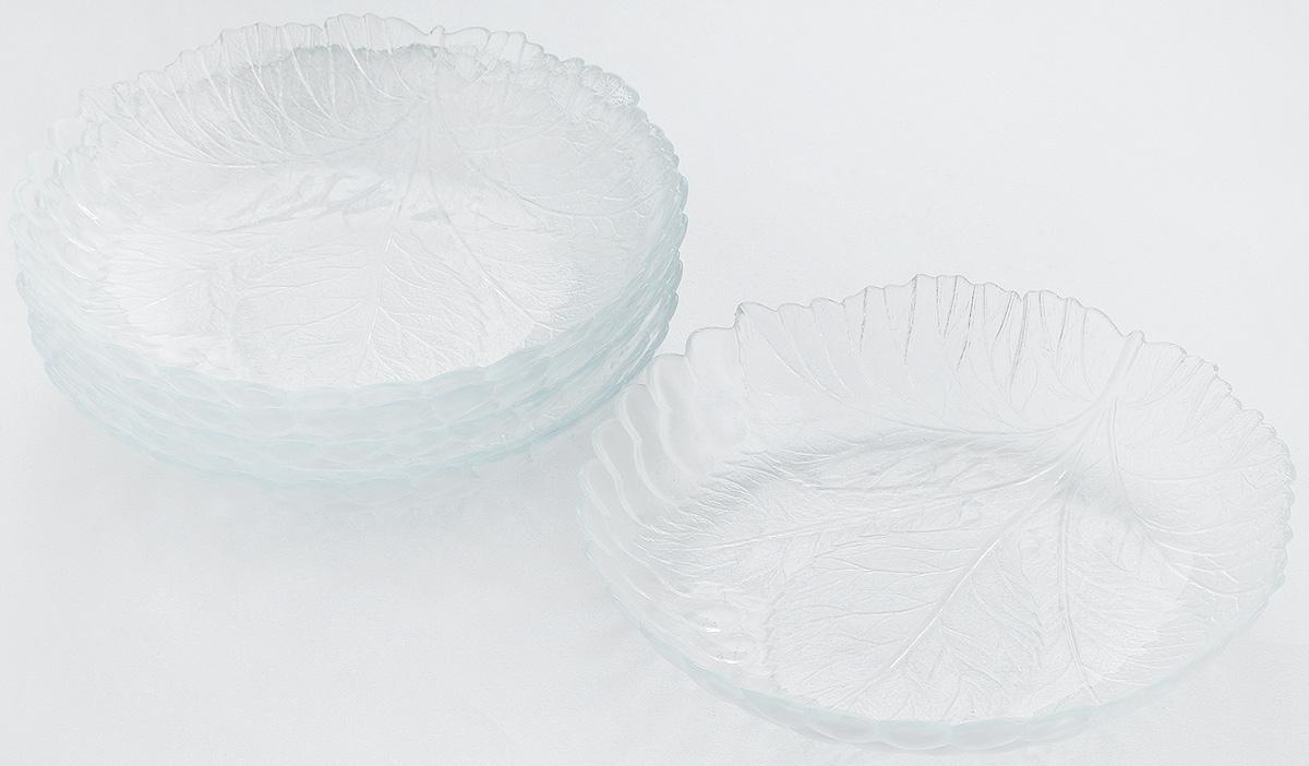 Набор тарелок Pasabahce Sultana, диаметр 21 см, 6 шт