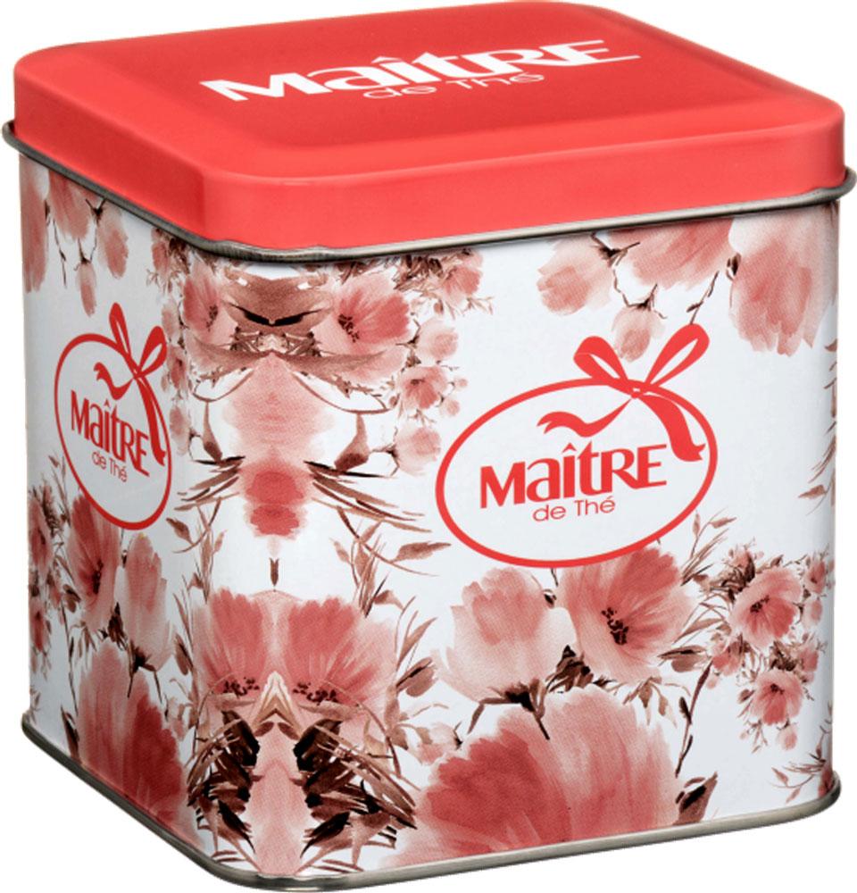 Maitre Цветы набор черного листового чая, 70 г basilur frosty afternoon черный листовой чай 100 г жестяная банка
