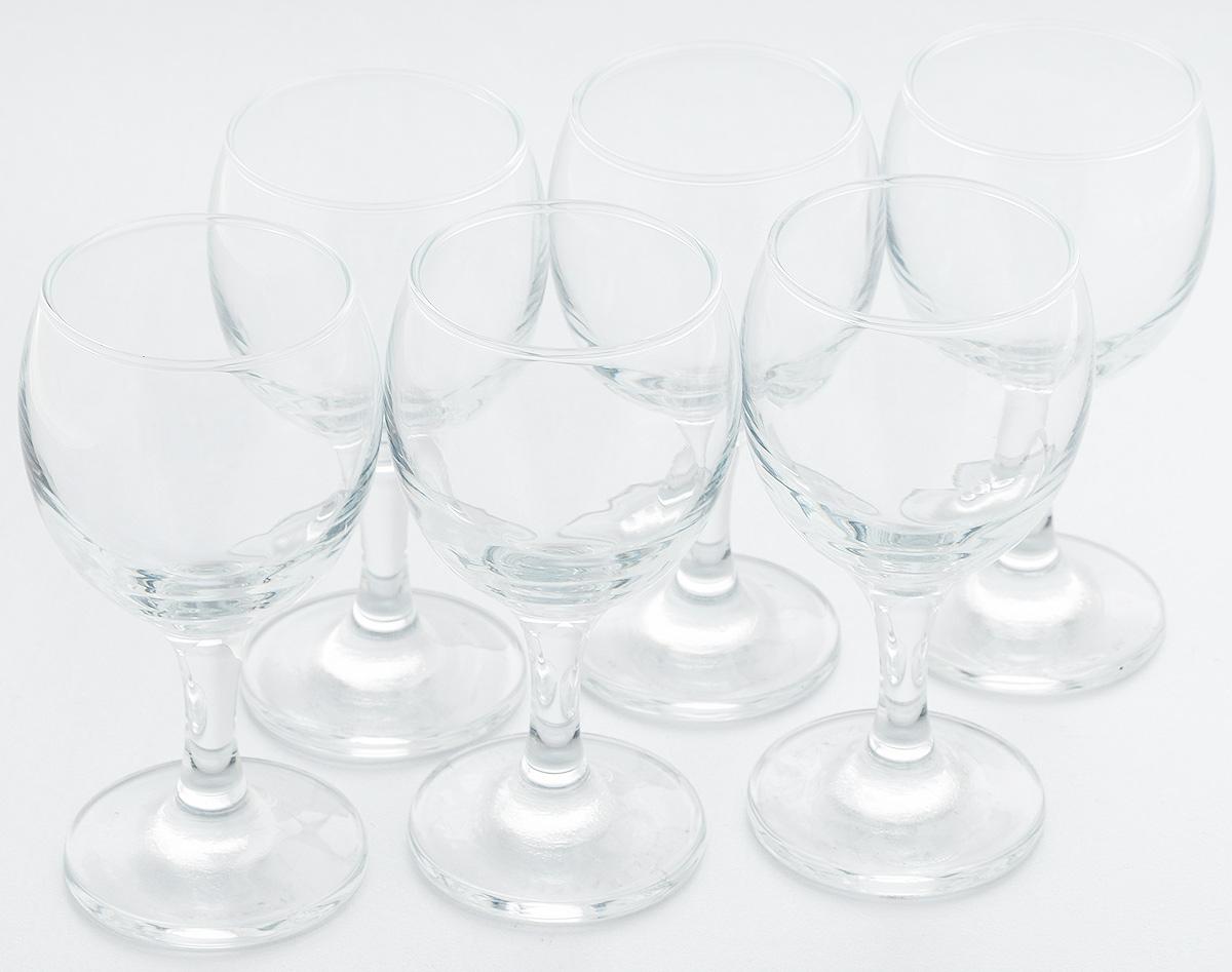 Фото - Набор бокалов для белого вина Pasabahce Bistro, 175 мл, 6 шт набор бокалов для мартини pasabahce bistro 170 мл