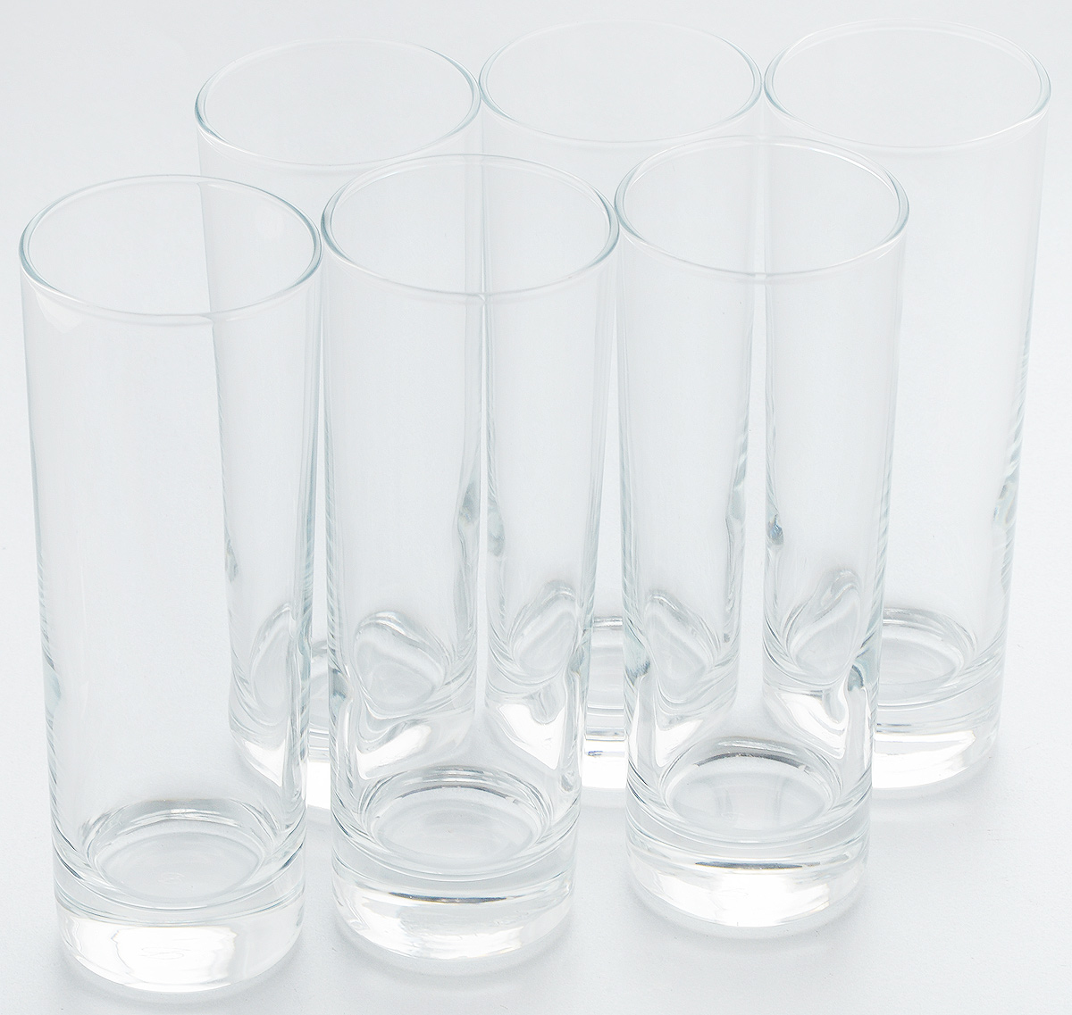Набор стаканов Pasabahce Side, 290 мл, 6 шт. 42469B набор подсвечников pasabahce алания высота 5 5 см 6 шт