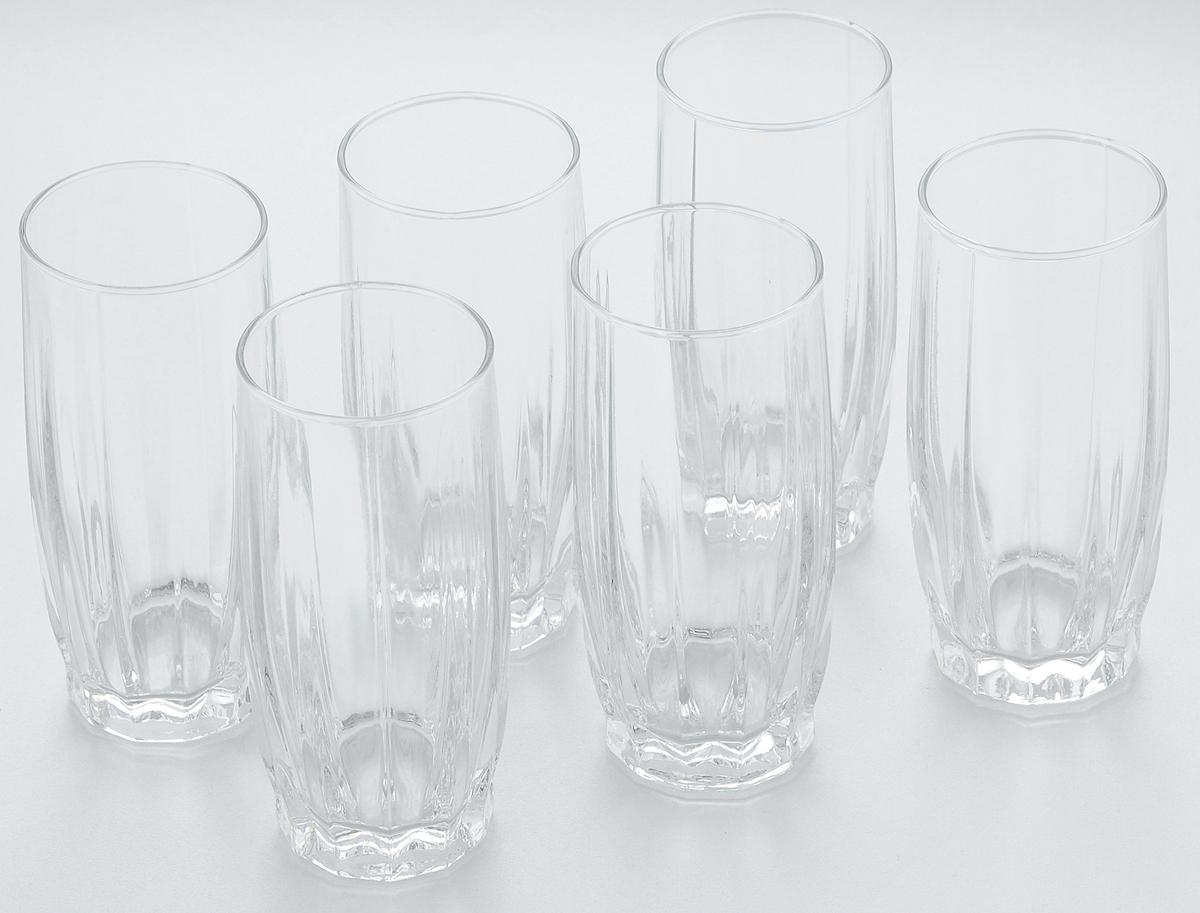 Набор стаканов для коктейлей Pasabahce Dance, 315 мл, 6 шт faber castell чернографитовый карандаш faber castell perfekt pencil 1 шт точилка
