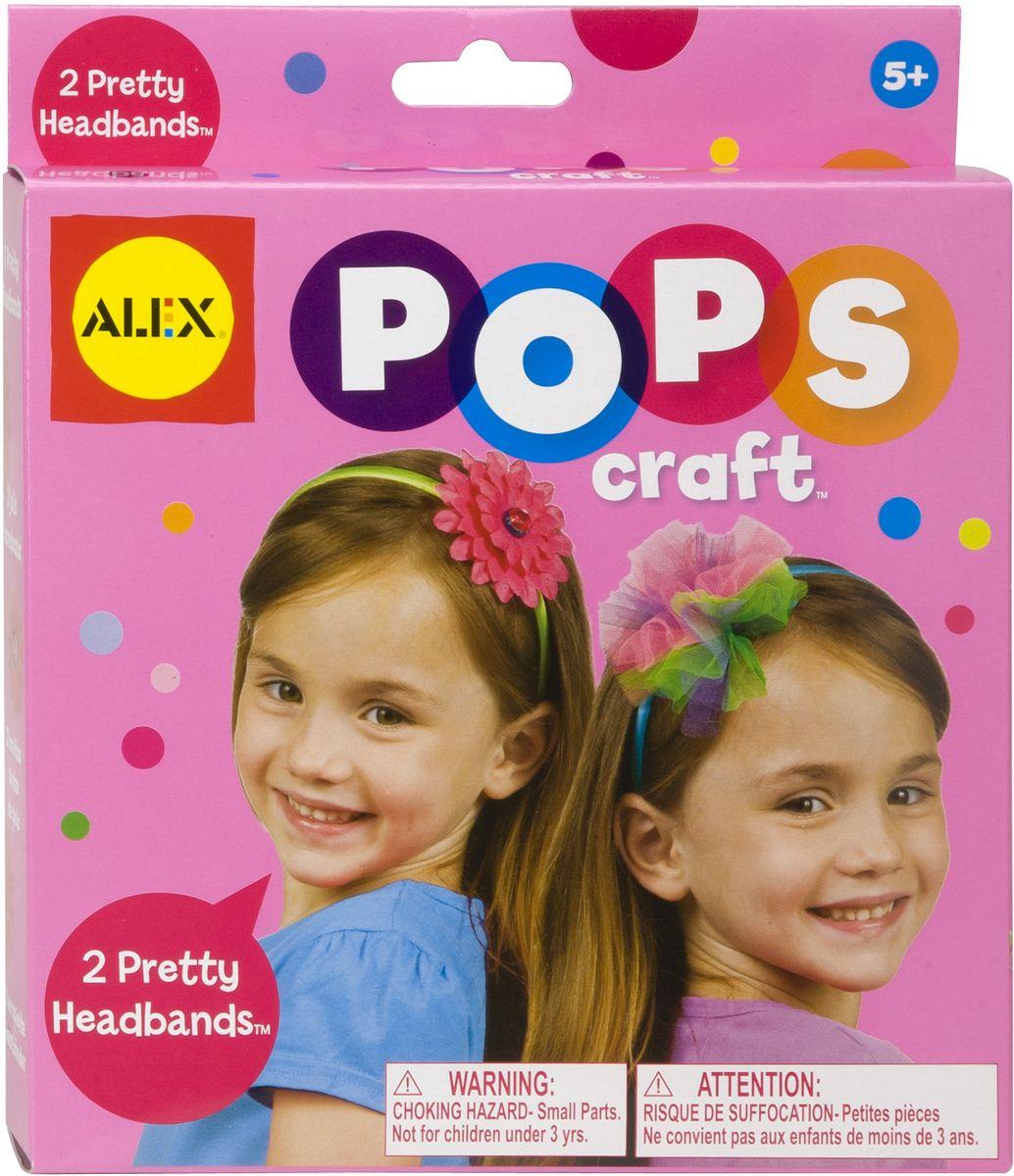 Alex Набор для творчества Pops Craft Укрась свой обруч наборы для творчества alex набор для вышивания любовь