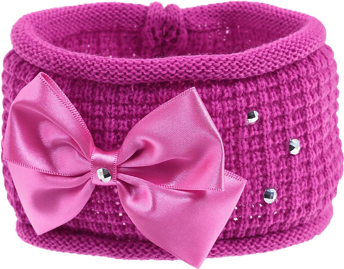 Baby's Joy Повязка для волос цвет фуксия розовый K 21 повязка на голову для младенца baby s joy цвет бежевый k 22