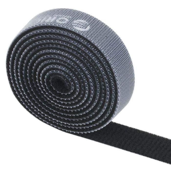 Orico CBT-1S, Black стяжка для кабелей cтяжка липучка для кабеля orico cbt 1s rd 1 метр 1 5 см красный