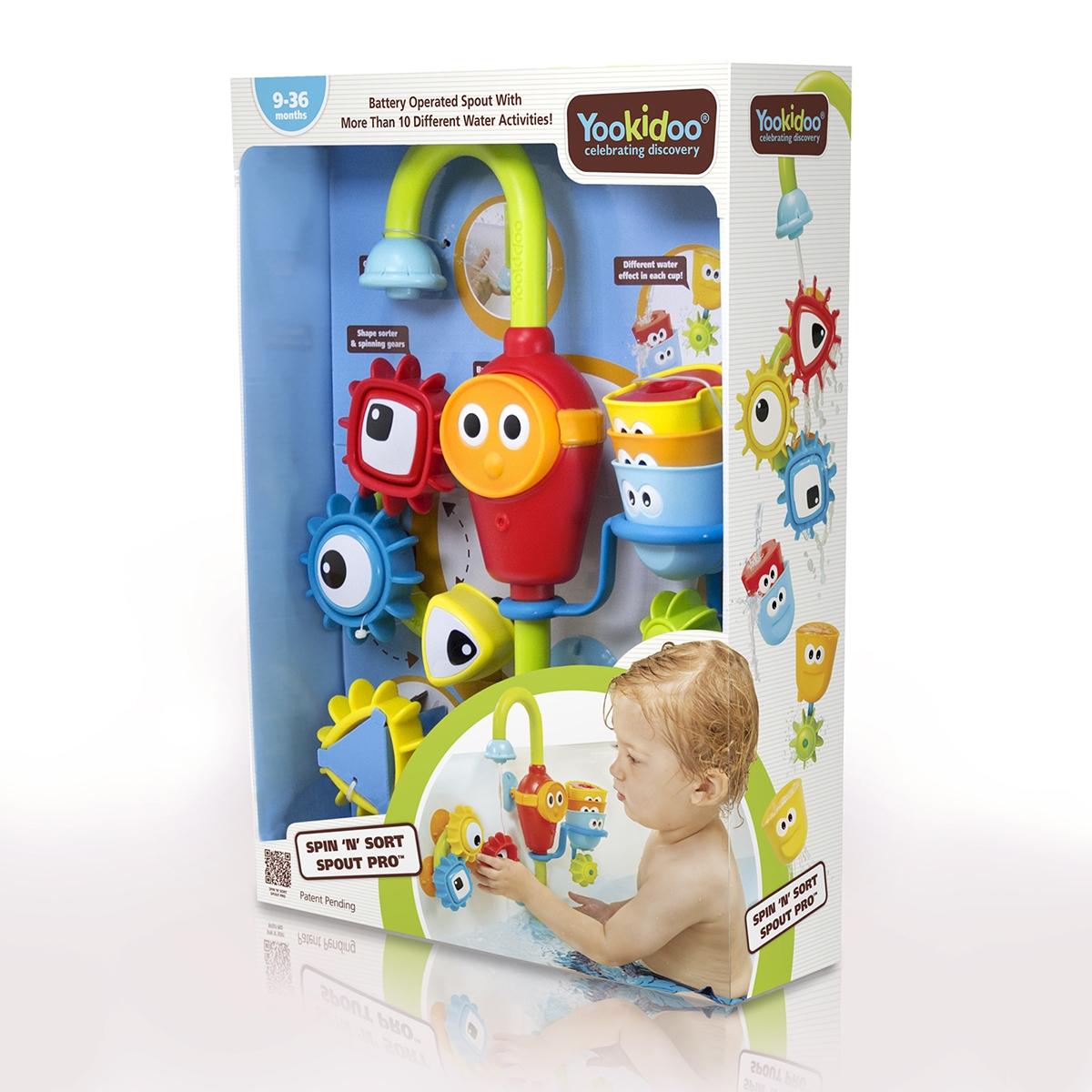 Игрушка для ванной Yookidoo 40141 кран для ванной цена