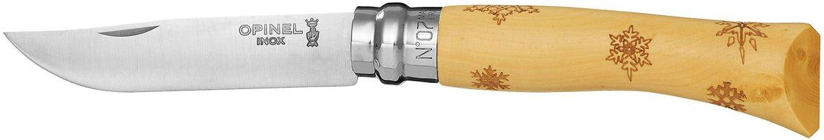 Нож Opinel Tradition. Nature №07. Снежинки бинокль 7х50 159170 зеленый