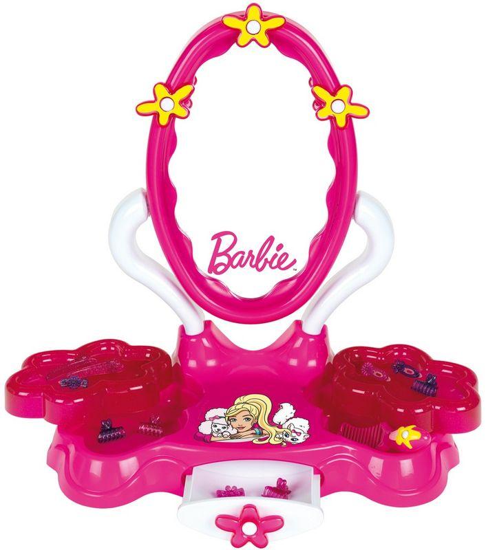 Klein Игрушечный набор Студия красоты Барби набор парикмахера klein barbie с феном