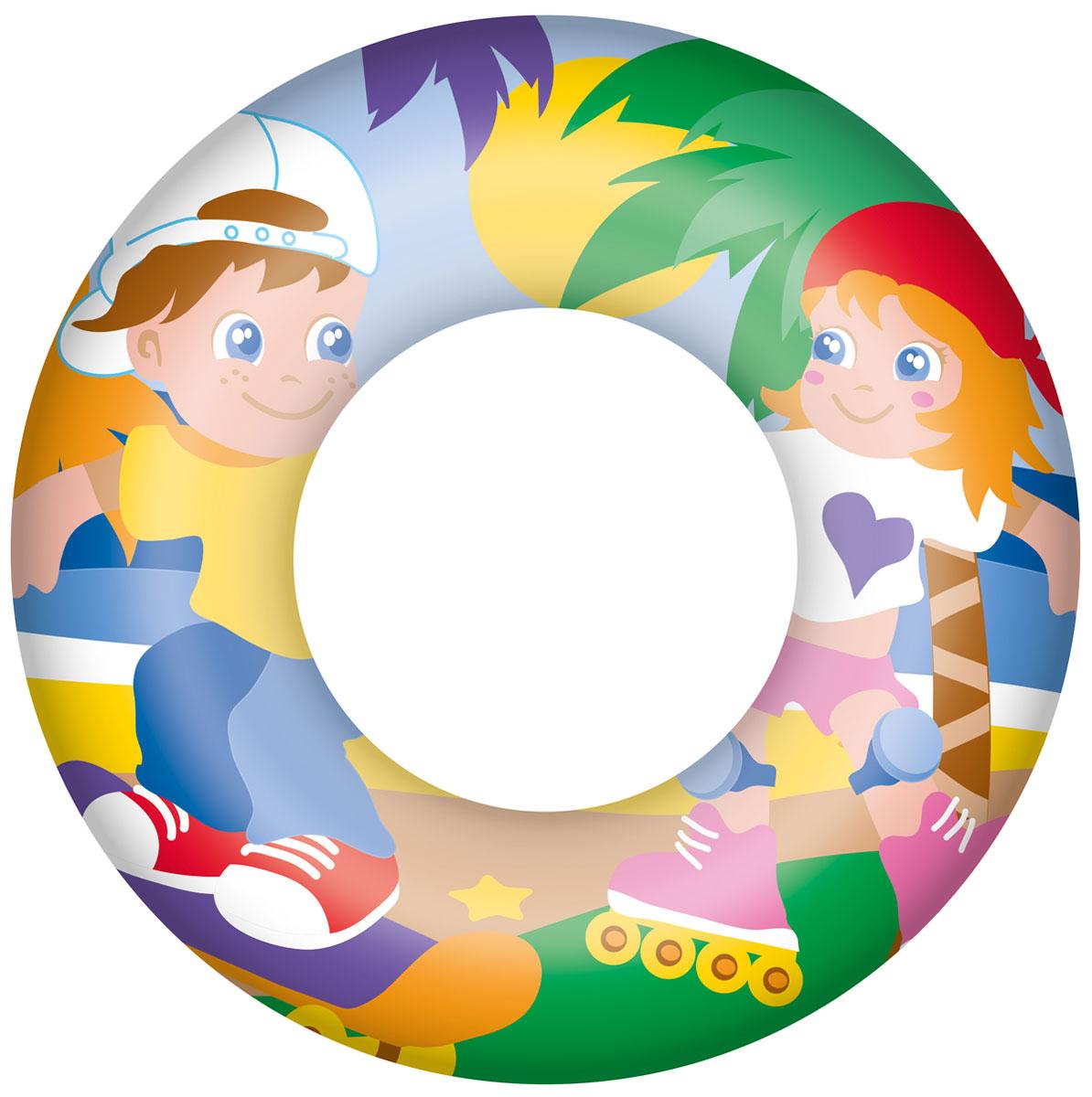 Круг для плавания Bestway, цвет в ассортименте