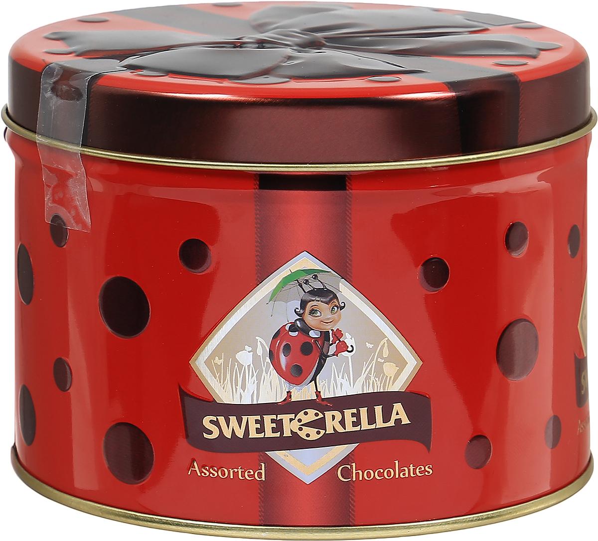 Sweeterella набор шоколадных конфет лепесток желаний, 160 г sweeterella конфеты домик счастья 170 г