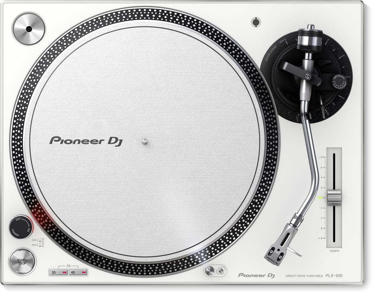 Pioneer PLX-500-W проигрыватель виниловых дисков проигрыватель виниловых дисков pioneer plx 500 black