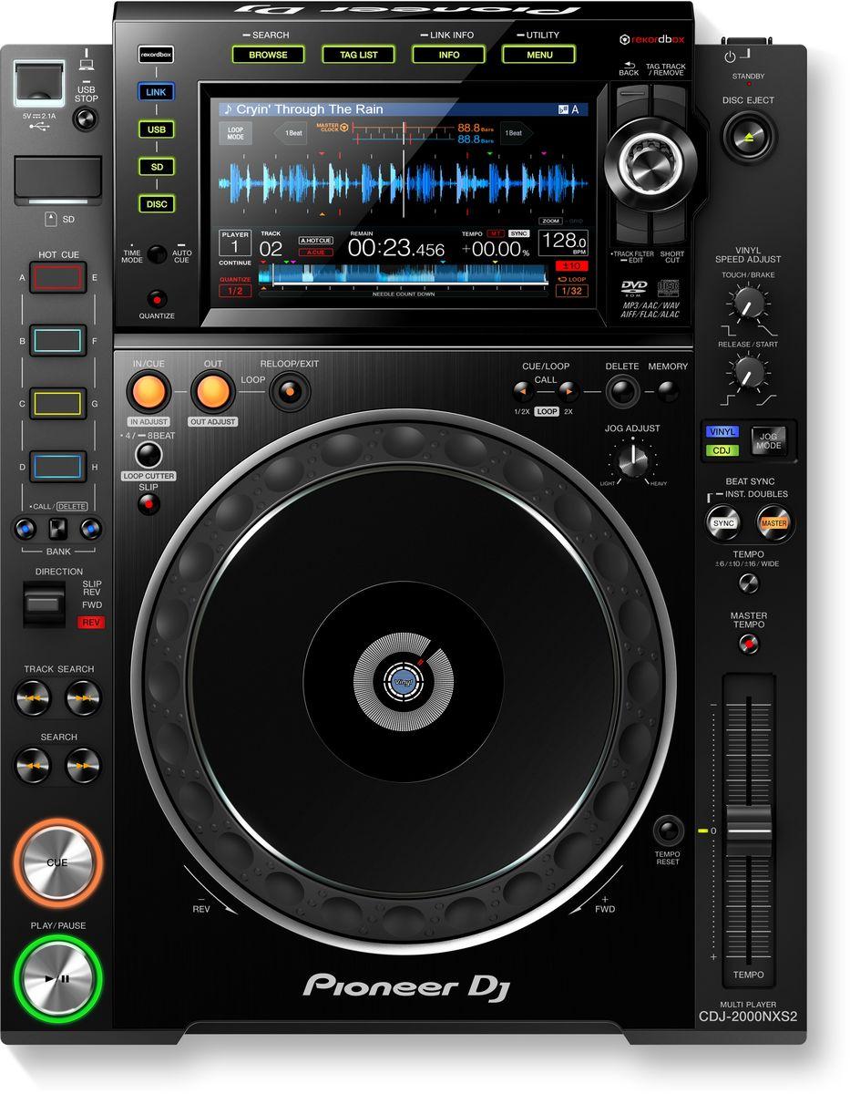 Pioneer CDJ-2000NXS2 DJ проигрыватель для профессиональных диджеев