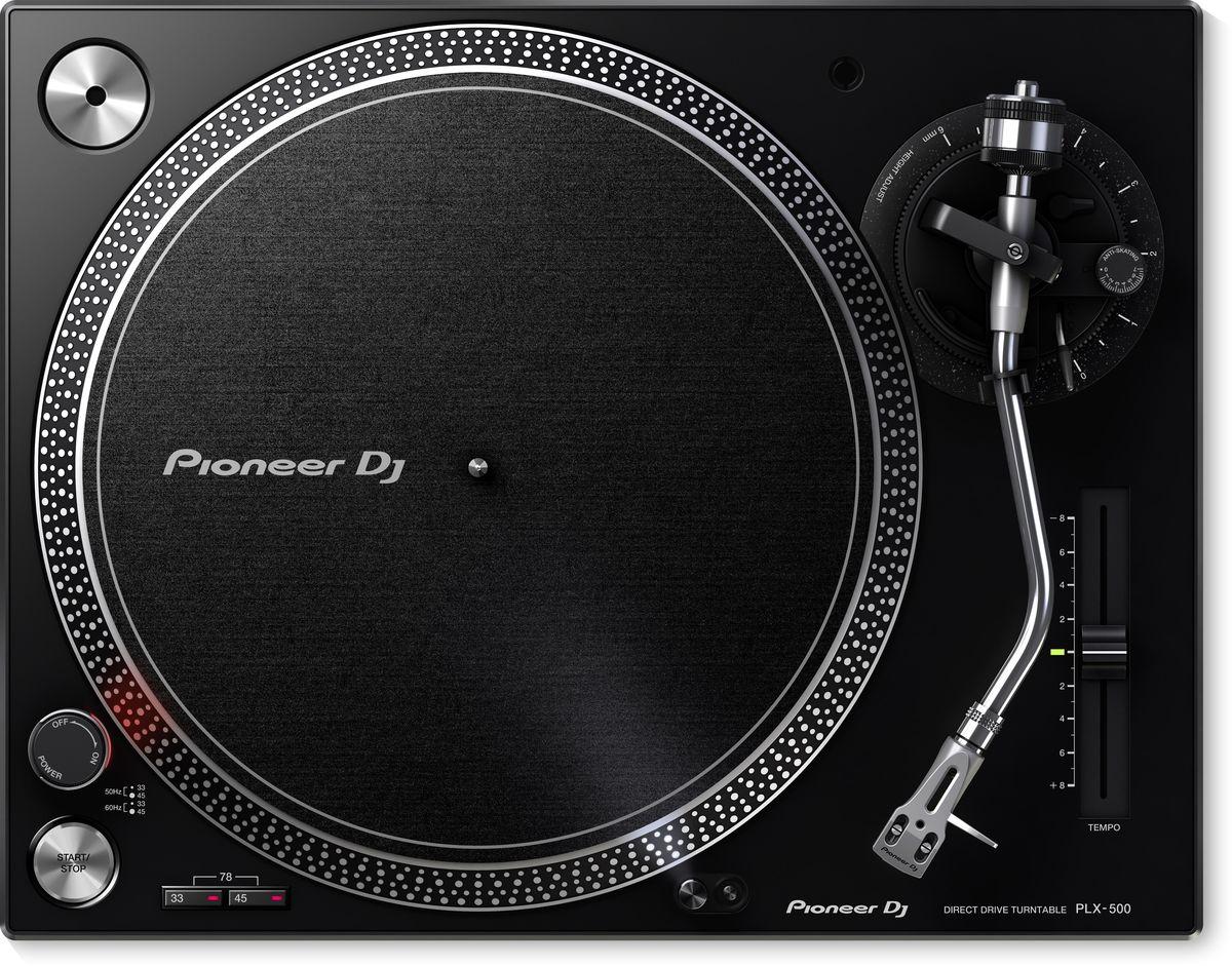 Проигрыватель виниловых дисков Pioneer PLX-500-K проигрыватель виниловых дисков pioneer plx 500 black