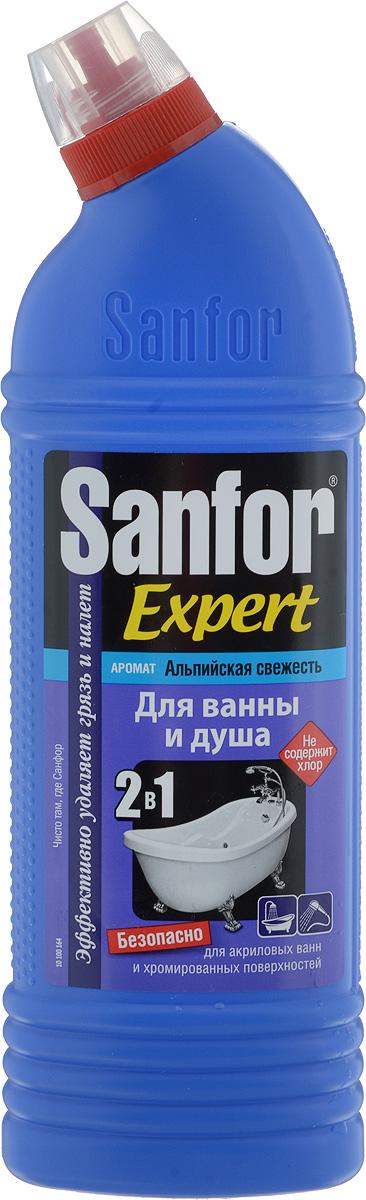 купить Средство для чистки и дезинфекции ванны и душа Sanfor