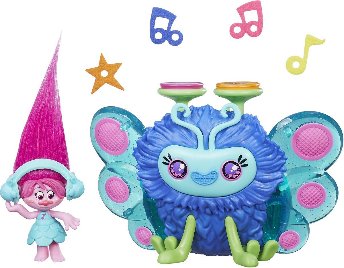 Trolls Игровой набор Розочка и ее Сабвуфер hasbro игровой набор trolls город троллей диджей баг