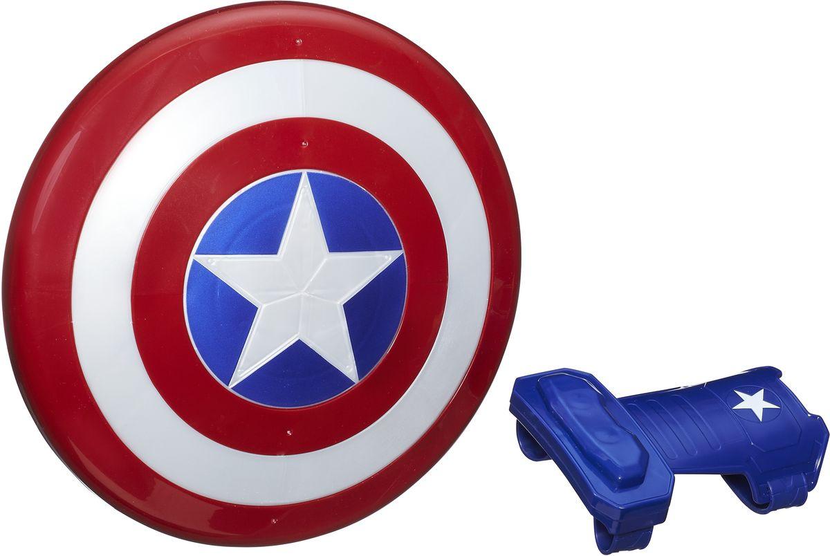 Avengers Щит и перчатка Captain America 1pcs newest the avengers figure anime interesting ironman spiderman captain america glove emitter cosplay toys for children