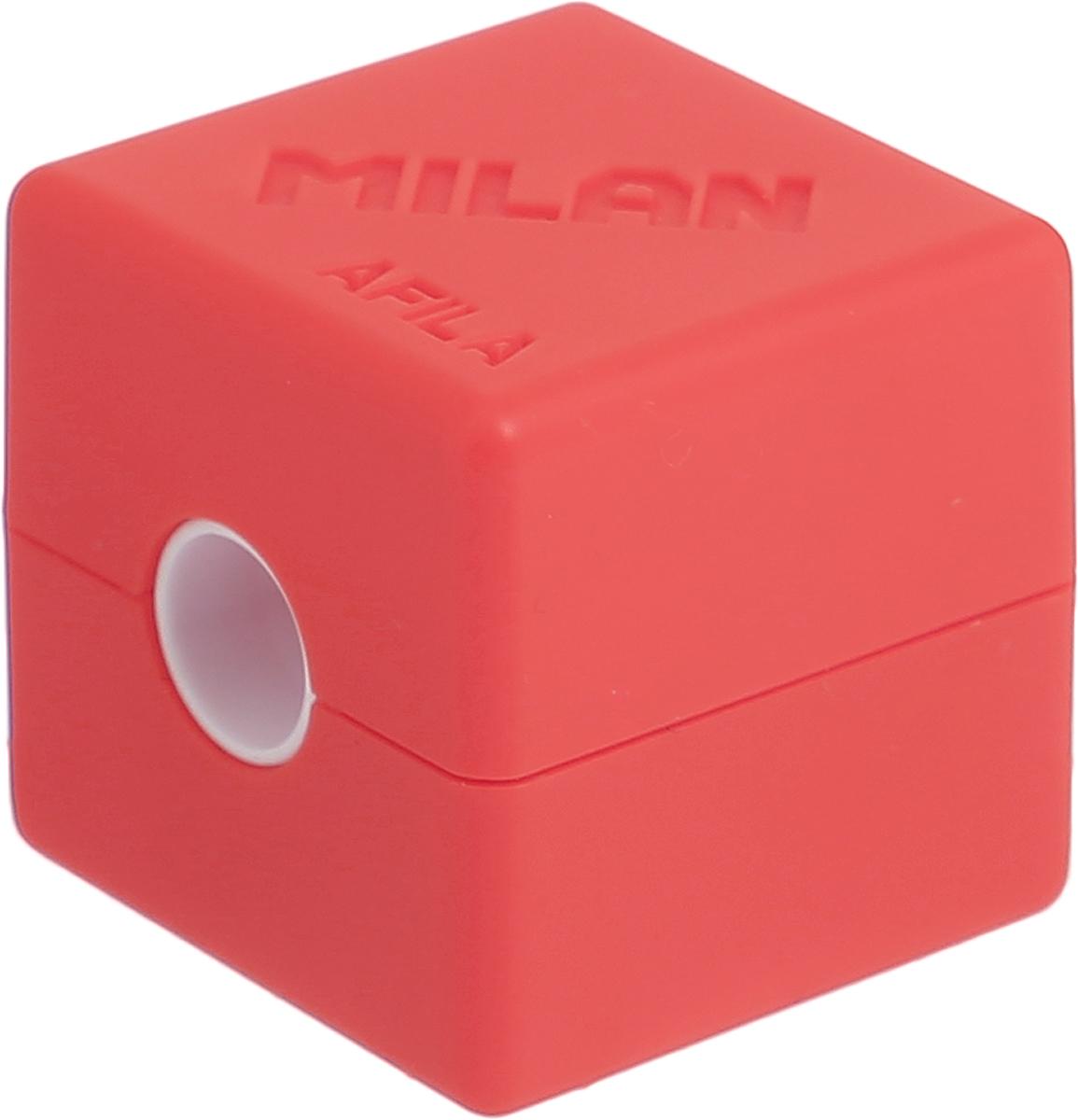 Milan Точилка Cubic с контейнером цвет оранжевый milan точилка 20127240