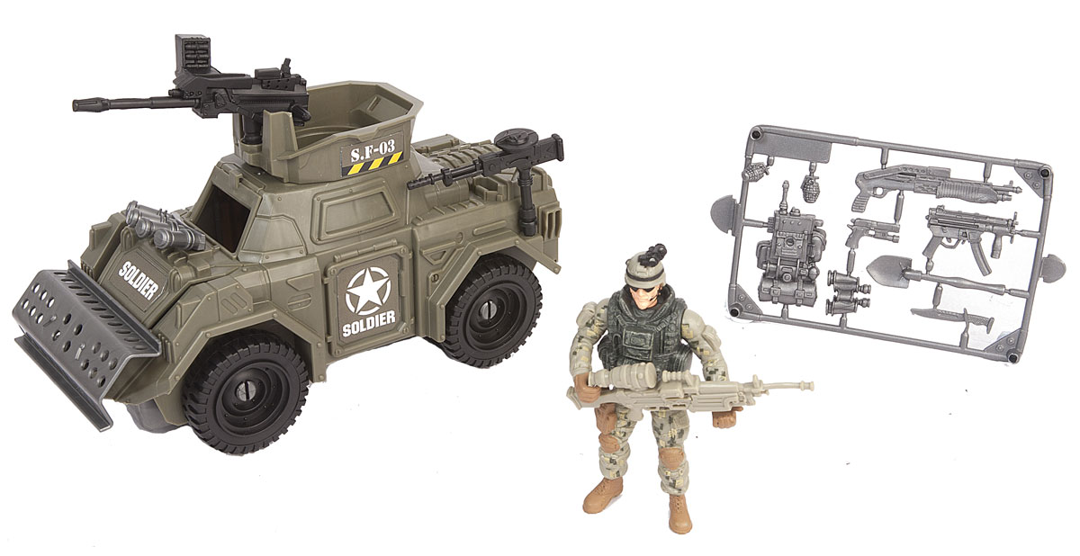 Chap Mei Игровой набор Броневик спецназа chap mei набор chap mei нано армия со звуком и светом