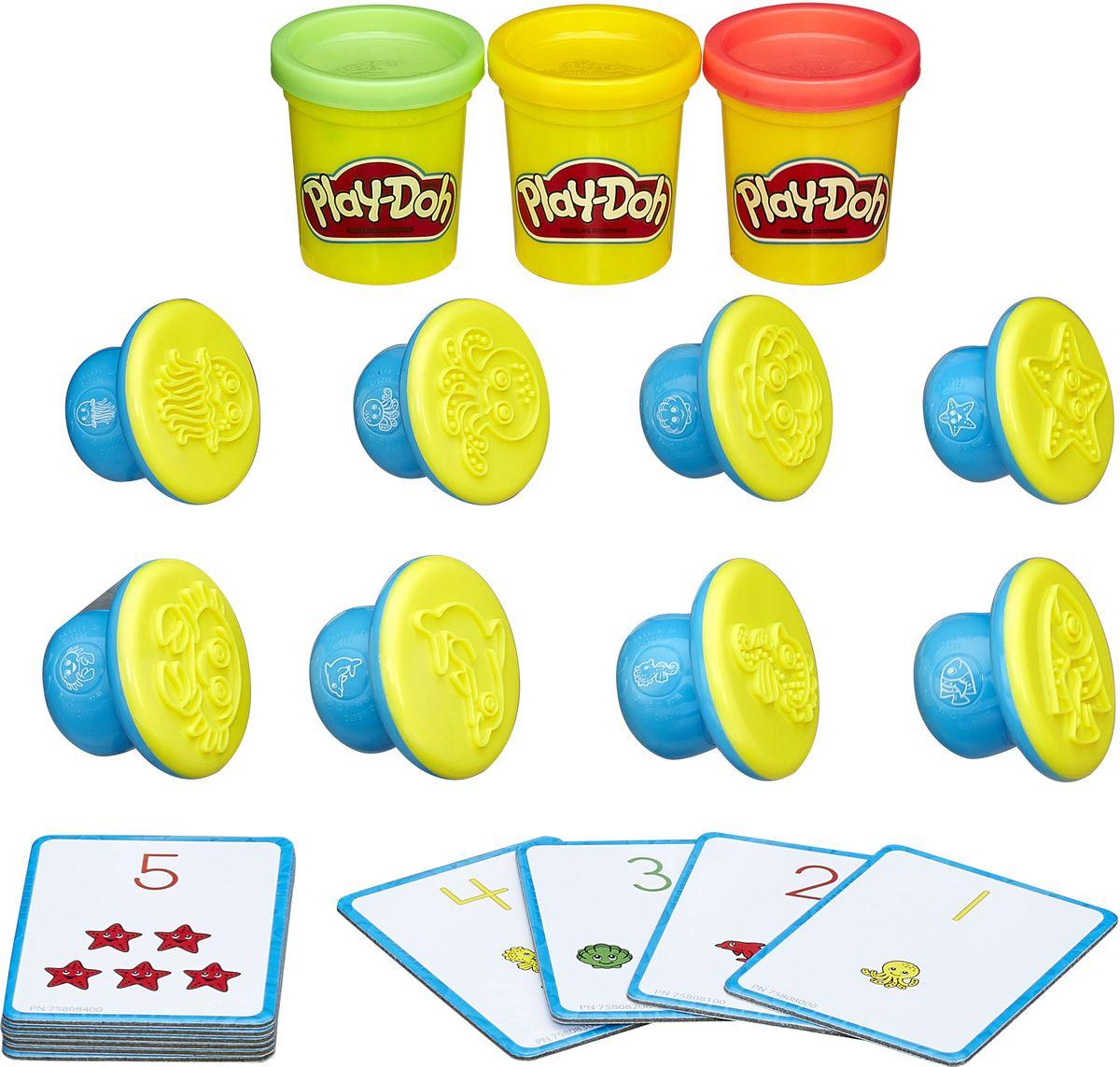 Play-Doh Набор для лепки Цифры и числа