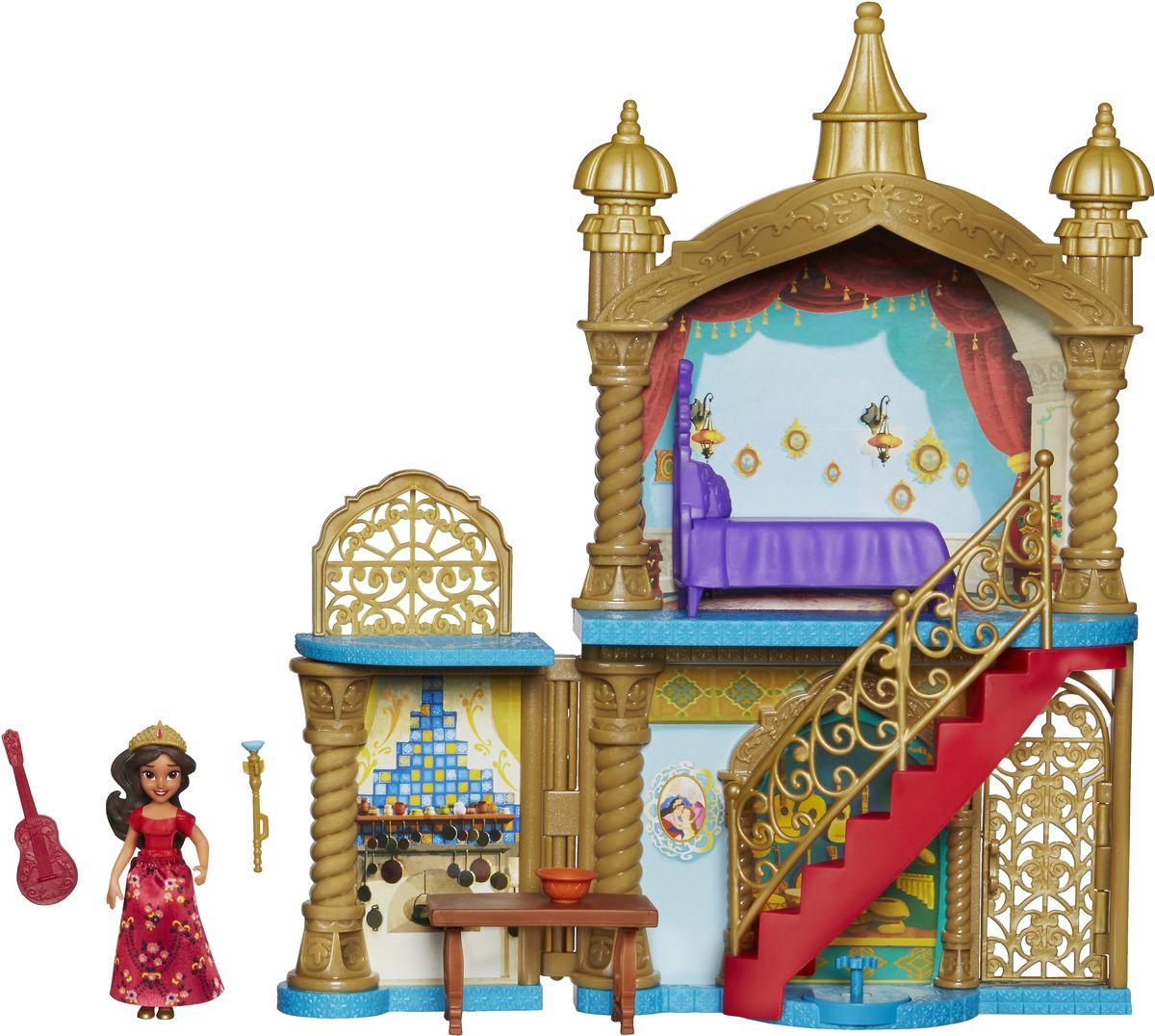 Disney Elena Of Avalor Игровой набор с мини-куклой Замок набор наклеек panini elena of avalor елена принцесса авалора 5 шт