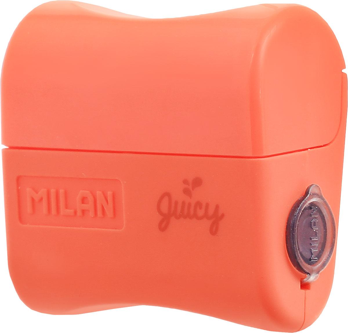 Milan Точилка Juicy с контейнером цвет оранжевый milan точилка 20127240