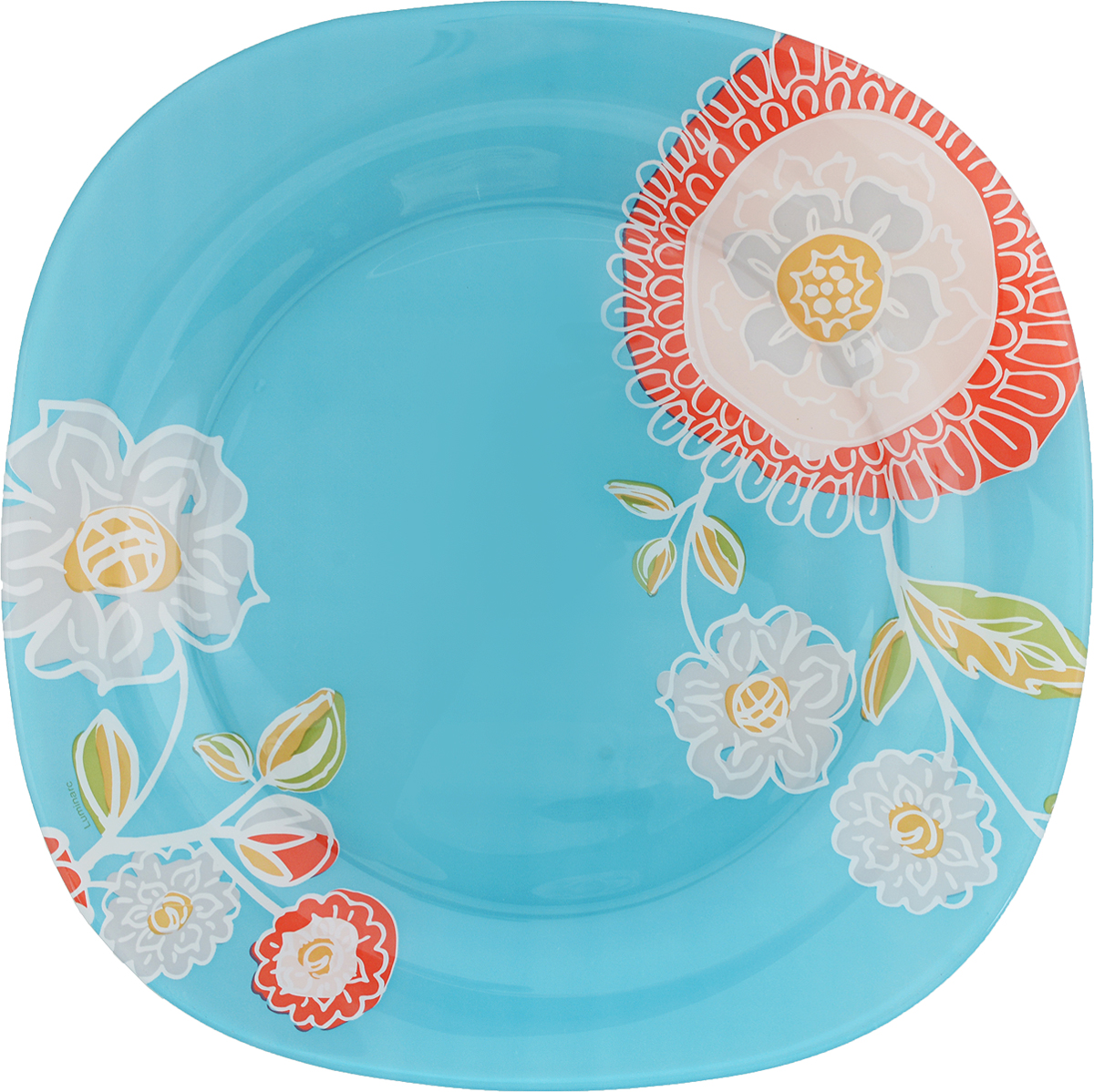 Тарелка обеденная Luminarc Silene Glass, 25 х 25 см тарелка обеденная luminarc sofiane blue 25 25 см page 3