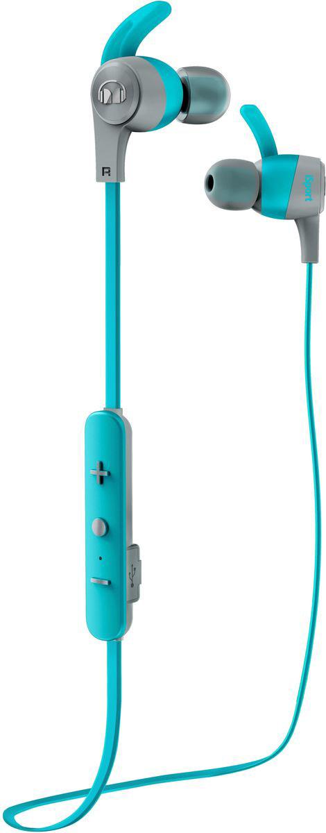Беспроводные наушники Monster iSport Achieve In-Ear Wireless, синий цена