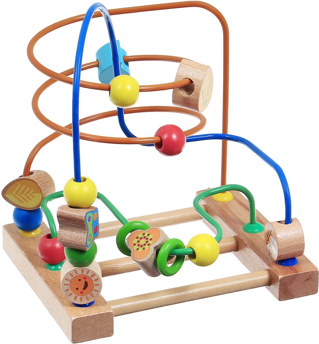 Мир деревянных игрушек Развивающая игра Лабиринт №3 деревянные игрушки мир деревянных игрушек лабиринт лева