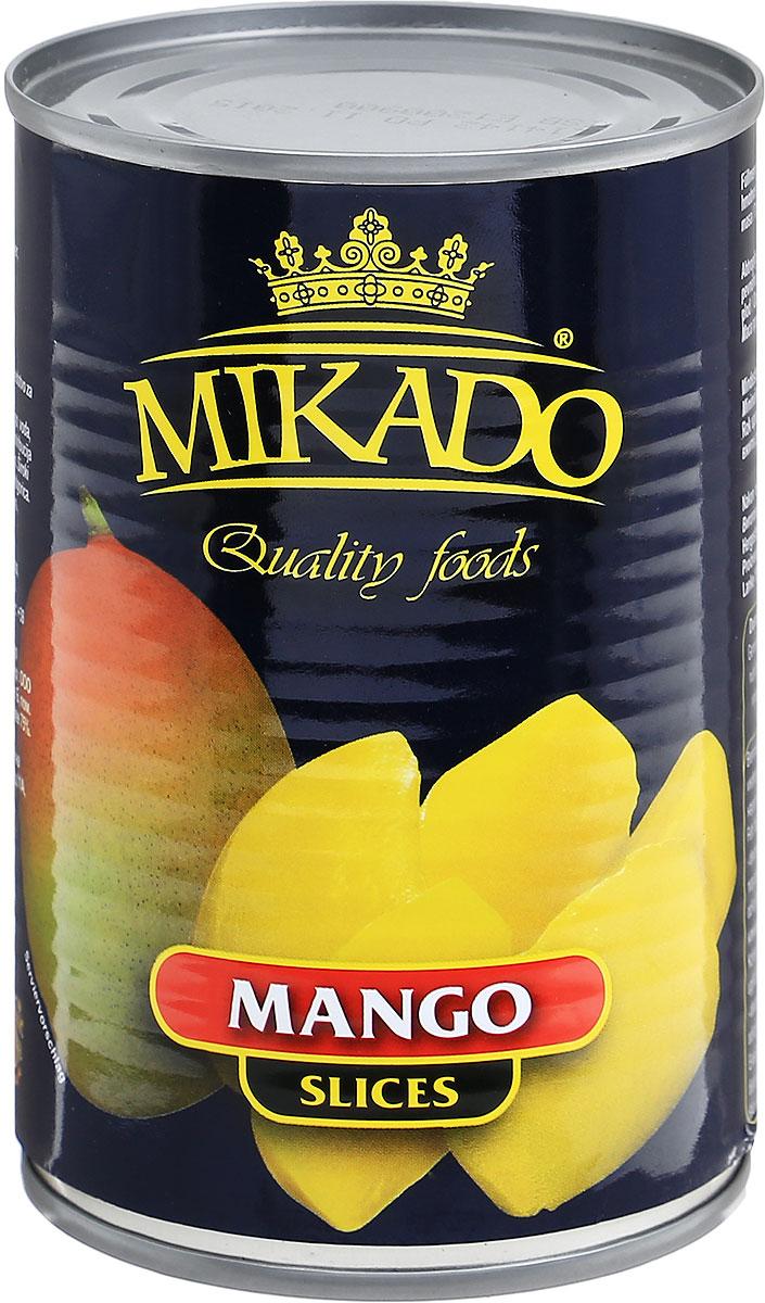 Mikado манго дольками в сиропе, 425 мл цена