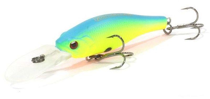 Воблер Yoshi Onyx Frisky Shad-47 F-DR, цвет: желтый, голубой, 4,7 см удилище спиннинговое yoshi onyx genta 862mh